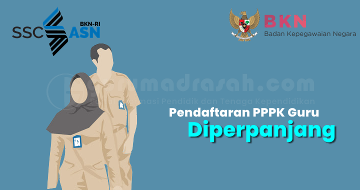 Pendaftaran PPPK Guru Diperpanjang Hingga 26 Juli 2021 Pukul 23:59 WIB