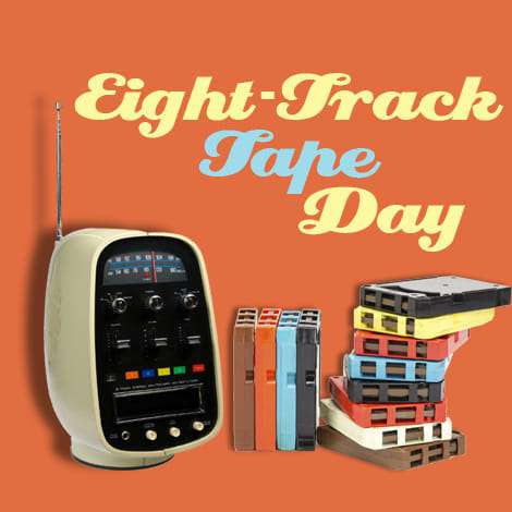 National Eight Track Tape Day Wishes Beautiful Image