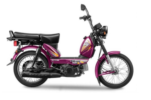 TVS XL100 Heavy Duty Moped Price in India
