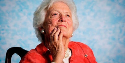 Barbara Bush, former US First Lady is dead at 92