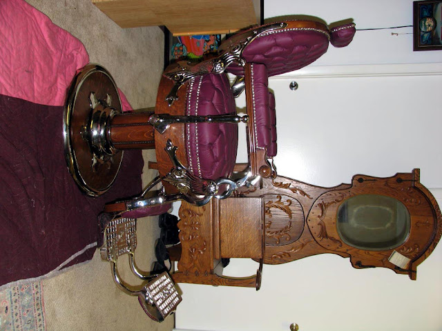 Old Barber Chairs >> Barber Girl Photos: Antique Barber Equipment