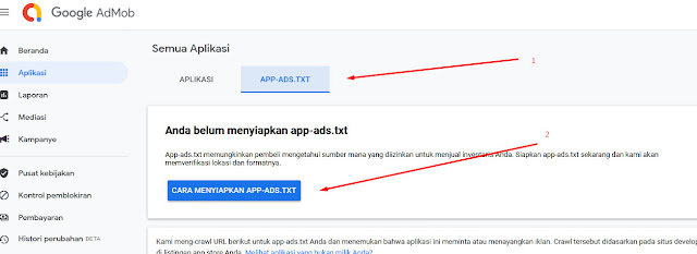 How to Install Admob app-ads.txt on Blogger