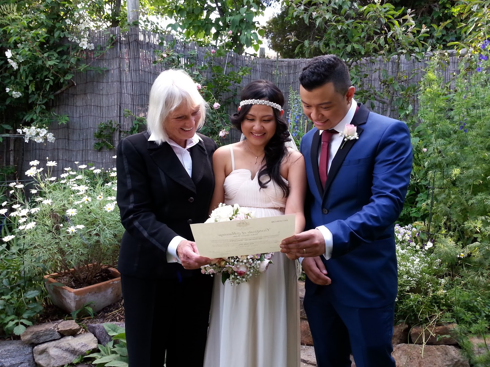 civil marriage We asked some questions regarding civil wedding to australia's most famous civil marriage officiant, christopher steele here you can find the answers.