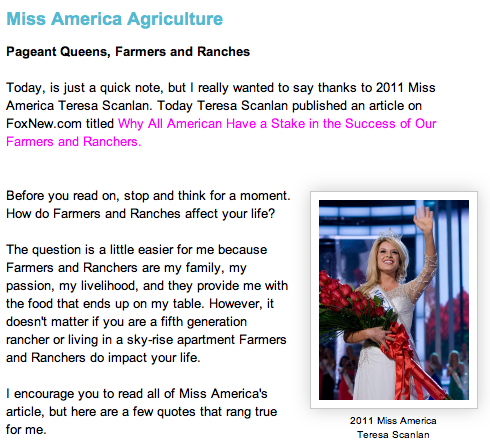 Miss America has a message to share   Crystal CattleCrystal