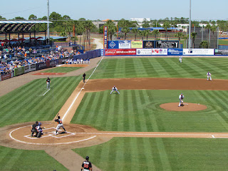First pitch, Marlins vs. Metropolitans