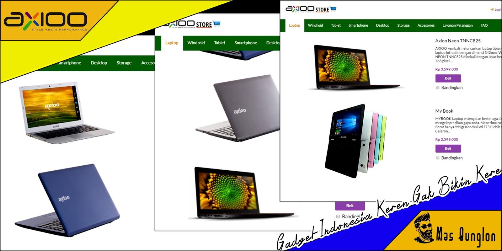 Axioo Laptop