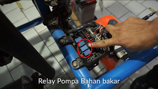 Relay Pompa Bahan Bakar