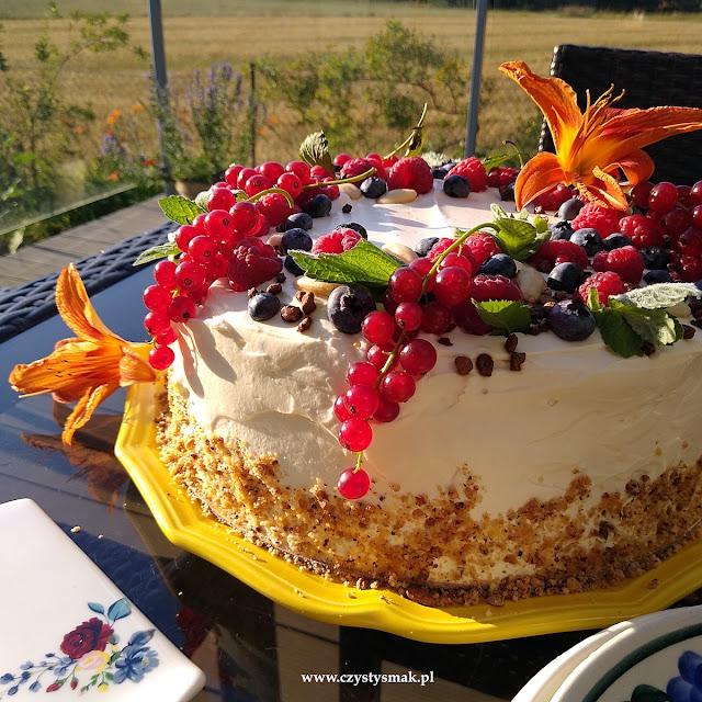 Bezglutenowy tort keto