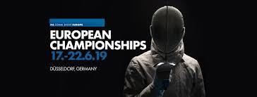 ESGRIMA - Campeonato de Europa 2019 (Düsseldorf, Alemania)