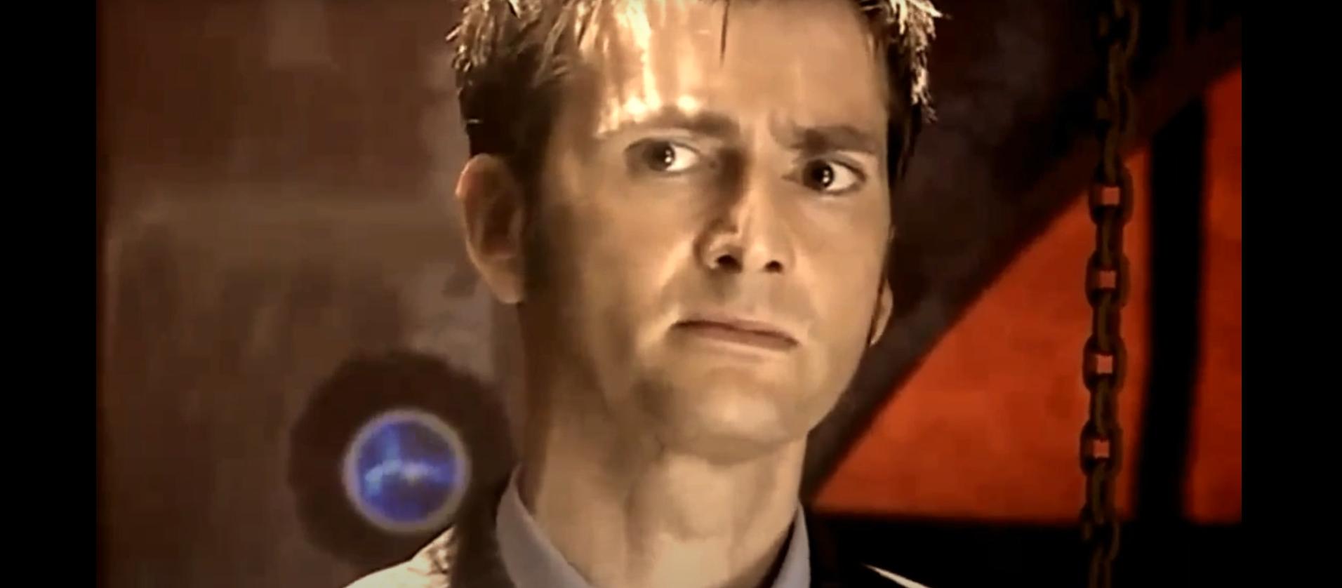 Скриншот из сериала Доктор Кто Десятый Доктор Теннант