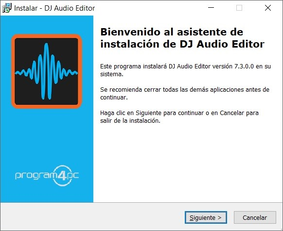 Program4Pc DJ Audio Editor Full imagenes