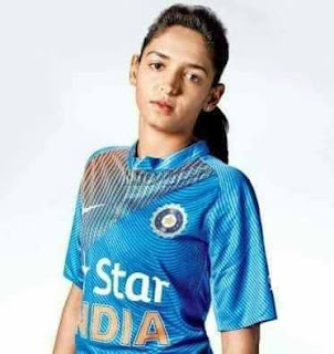 India`s Women Cricket team Player Harmanpreet Kaur Made History