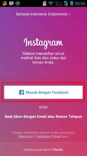Tips Instagram, Cara Masuk Instagram lewat Facebook, masuk instagram melalui akun facebook
