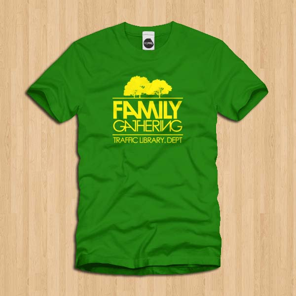 Model Kaos Family Gathering Terbaru