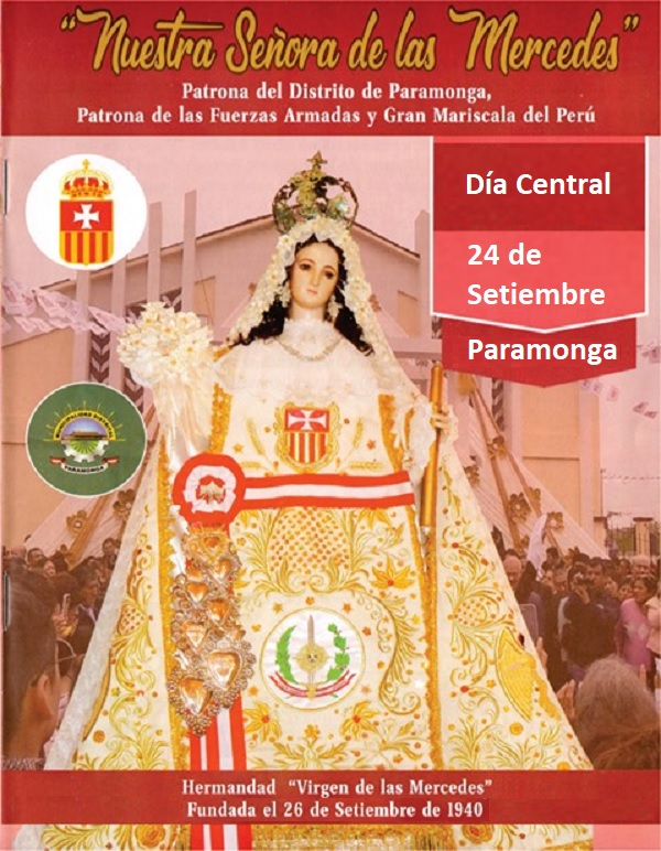 Virgen de las Mercedes en Paramonga