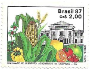 Selo Centenário do Instituto Agronômico de Campinas