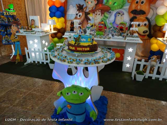Decoração infantil provençal Toy Story - Festa de aniversário