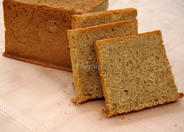 Pan de Molde de Avena
