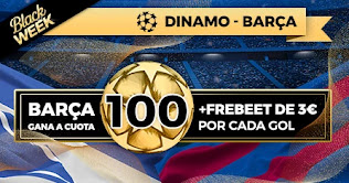 Paston promo Dinamo vs Barcelona Black Week 24-11-2020