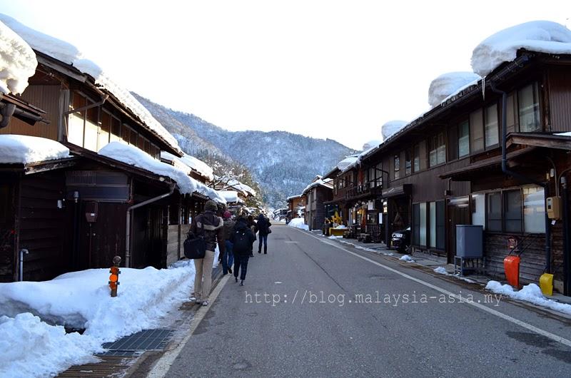 Main Street Shirakawa Go