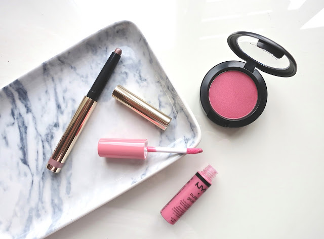 Spring Makeup Picks byTerry Ombre Blackstar NYX Buttergloss MAC Dollymix Blush