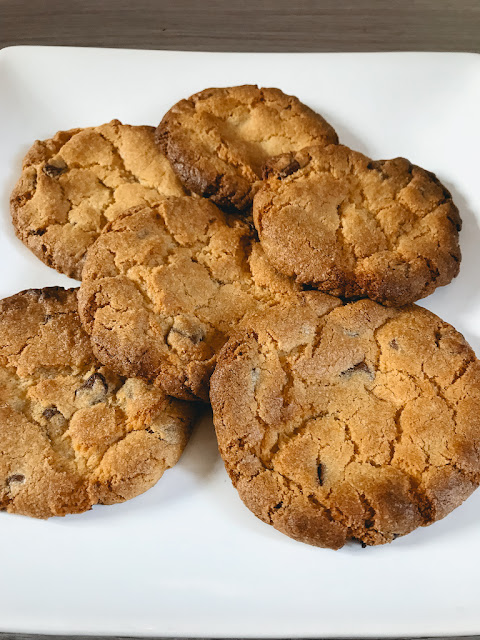 Easy baking ideas for the Great British Bake Off final - chocolate chunk cookies