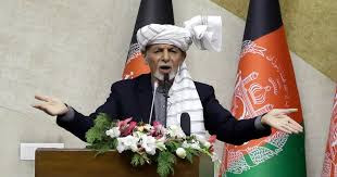 President Ghani leaves Afghanistan