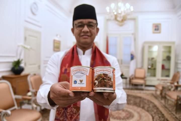 Pemprov DKI Jakarta Gandeng Rumah Zakat Dalam Dapur Qurban 2019