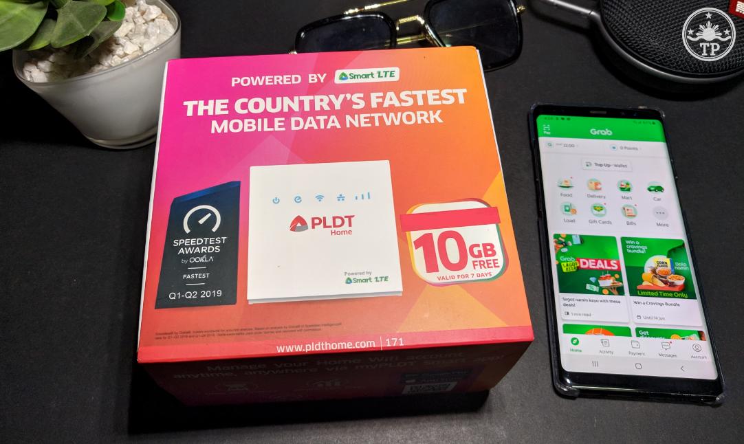 PLDT Home WiFi, PLDT Smart Grab Partnership