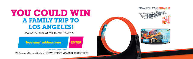 Here are some instructions about how to enter the Hot Wheels Sweepstakes for your chance to win some really great prizes!