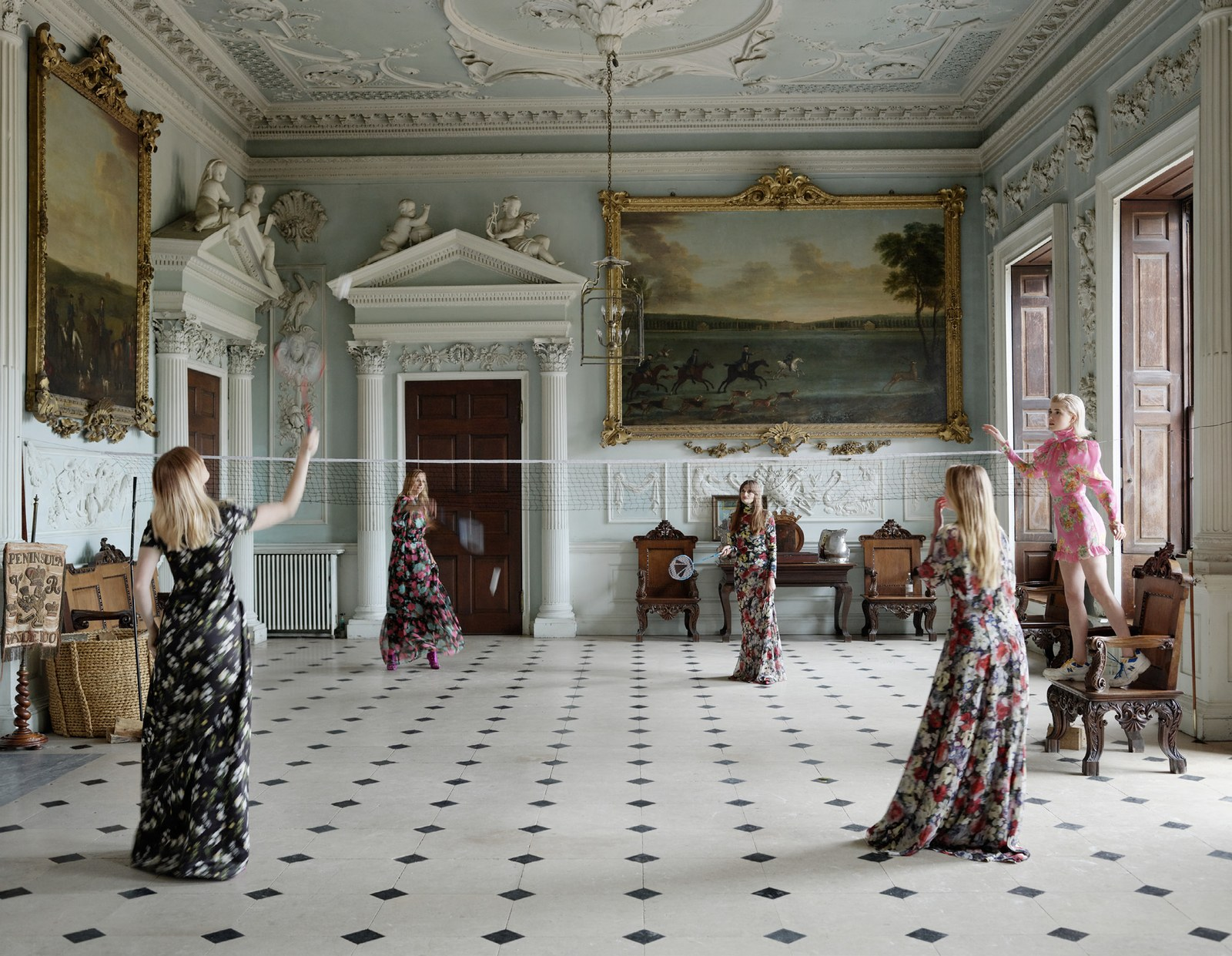 Décor | A Glimpse Into: Badminton House, Gloucestershire
