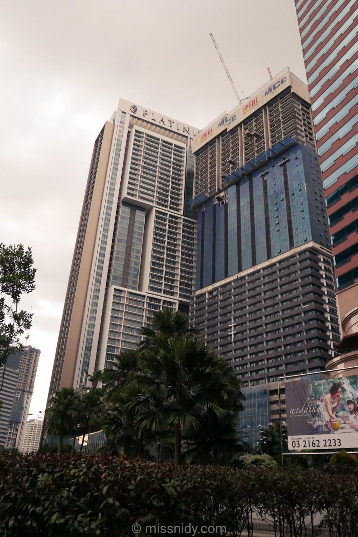 menginap di the platinum suites kuala lumpur malaysia