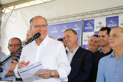 Governador Geraldo Alckmin entrega obras do Hospital Regional de Registro-SP