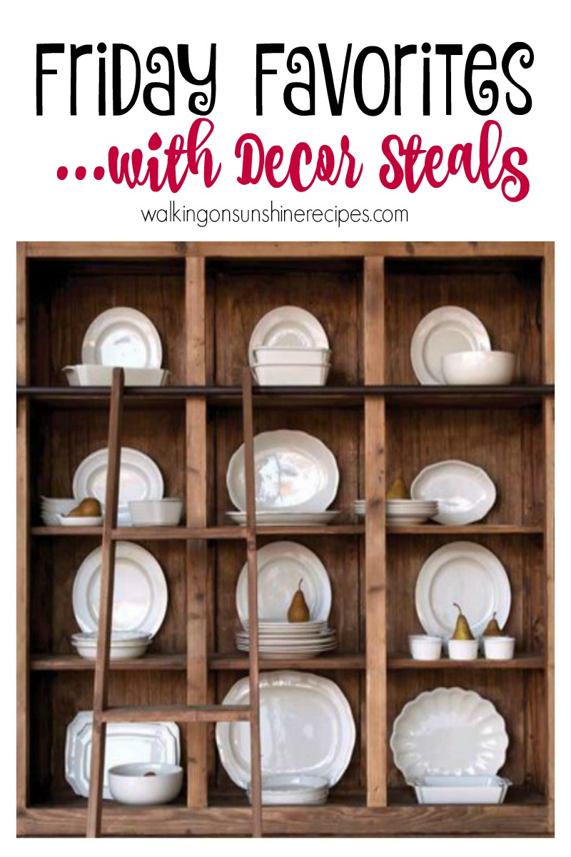 Decor Steals Favorites for the Home