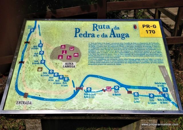 la Ruta de Pedra e da Auga en las Rías Baixas