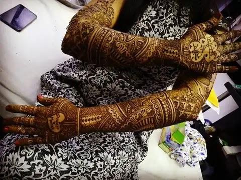 full-hands-mehndi-design-for-wedding-girls