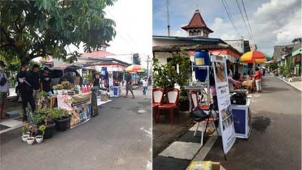 Warga RW 09 Kelurahan Padangsari Semarang Adakan Bazar Rakyat