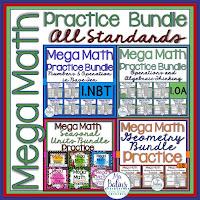 Mega Math Practice All Standards Bundle
