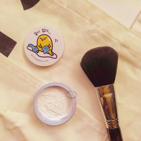 [REVIEW] Holika Holika - Sweet Cotton Pore Cover Powder Gudetama Edition