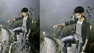 Creative manipulation editing like photoshop cc