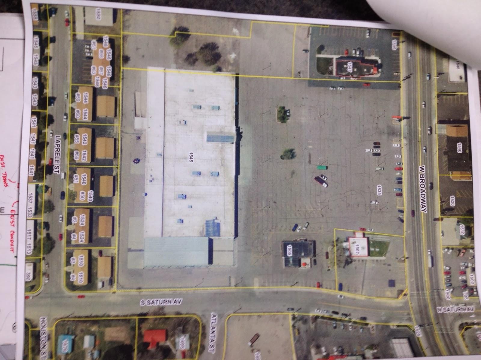 strip mall plan