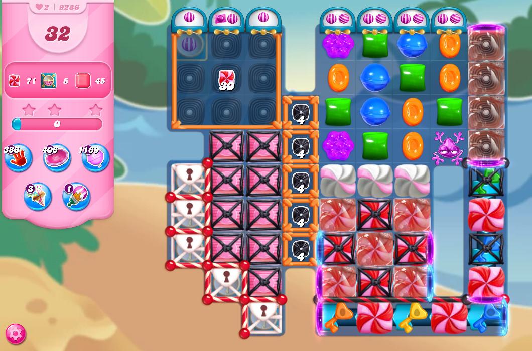 Candy Crush Saga level 9286