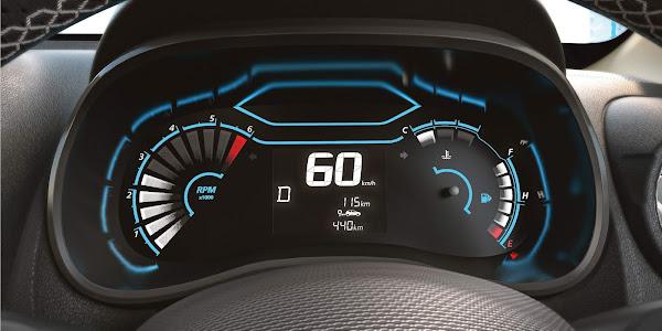 Novo Renault Kwid 2022 - novo painel digital