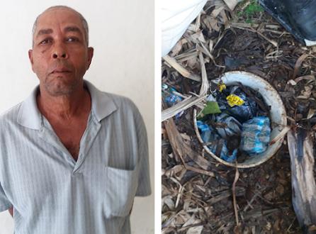 """Barahona: Apresan a """"El Cojo"""" con siete paquetes de presunta marihuana"""