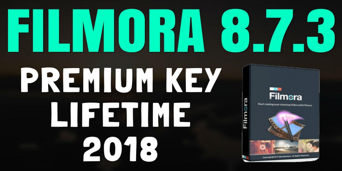filmora free download full version 2018
