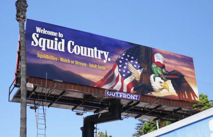 Welcome to Squid Country Squidbillies season 12 billboard