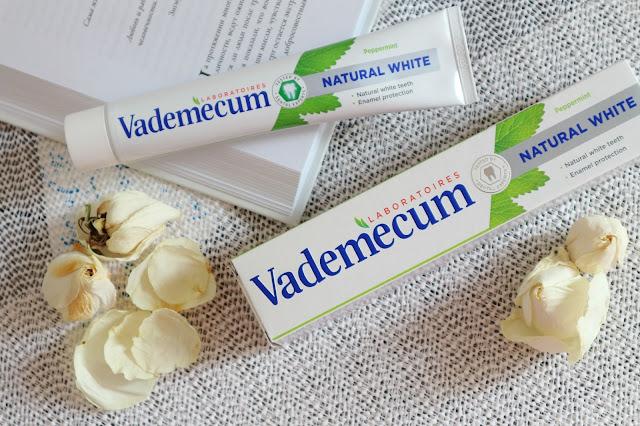 Vademecum Natural White Отбеливающая зубная паста