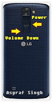 Hard Reset Android LG K8