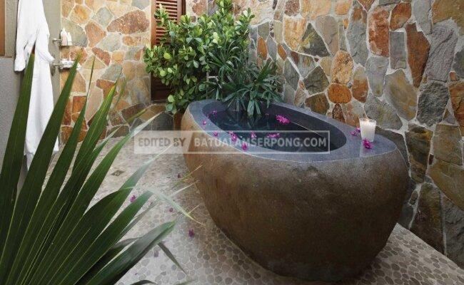 batu alam indoor