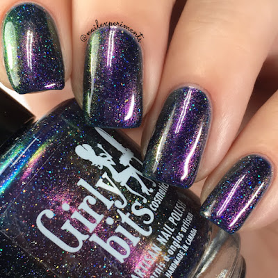 girly bits sparrow of the dawn swatch concert series